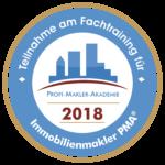 Röhricht Immobilien war 2018 Teilnehmer am Fachtraining für Immobilienmakler von der Profi-Makler-Akademie