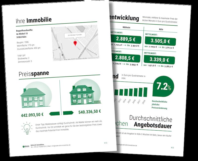 Kostenlose Wertermittlung Ihrer Immobilie durch Röhricht Immobilien
