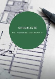 Checklisté für ein gutes Immobilienexposé