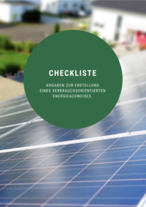 Checkliste Energieausweis für Immobilien - Erstelllung eines verbrauchsorientierten Energieausweis