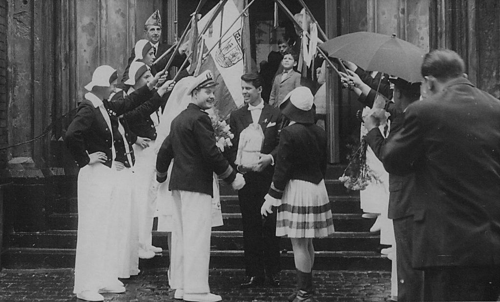 Die Hochzeit von Opa Günter und seine Frau fand ebenfalls in Köln Mülheim statt