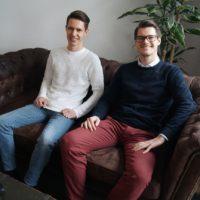 Das Team von Röhricht Immobilien: Geschäftsführer Jonas Röhricht und Marketingassistent Sebastian Schlör